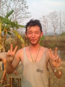 タイ タコペパイのパーマカルチャーコースにて