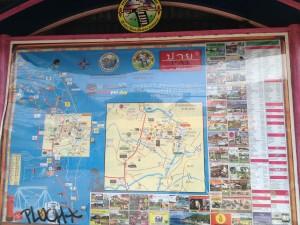 paiの街のマップ