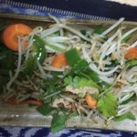 パクチー野菜炒め
