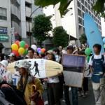 反原発デモだけでなくデモに参加することは自分の意志を表現する手段