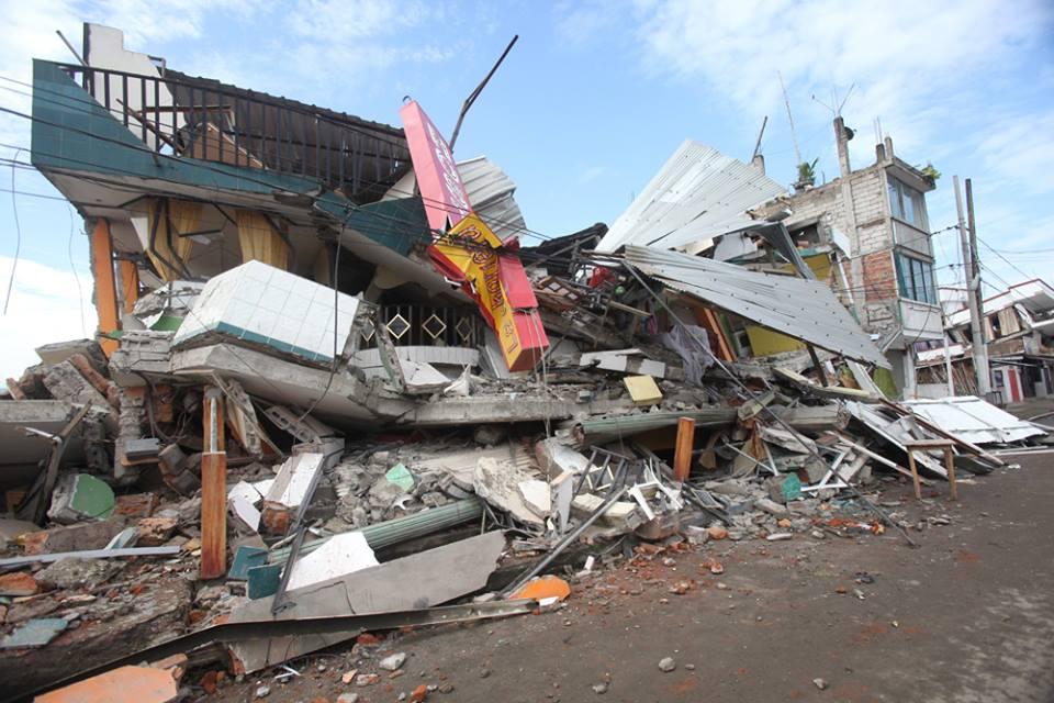 エクアドル大地震