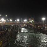 ヒンズー教の聖地ハリドワールのプージャ