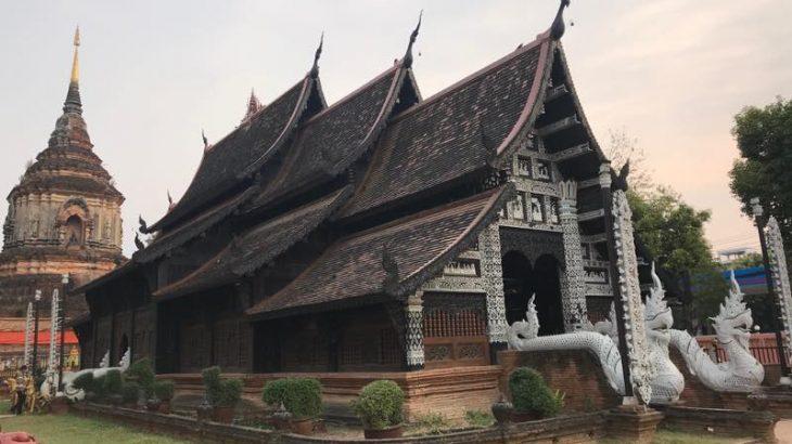 チェンマイのパワースポットお寺を巡る