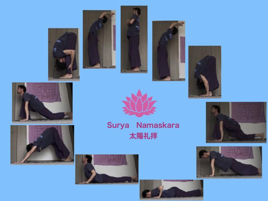 デリー国際空港に像もある太陽礼拝 Surya Namaskarの効果とやり方